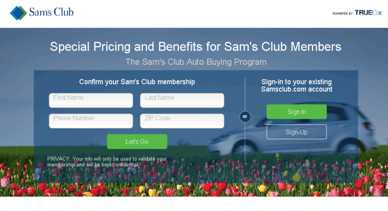 Sam'S Club Auto >> Access Samsclub Truecar Com Sam S Club Auto Buying Program