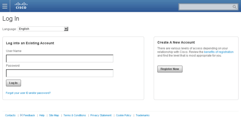 Access sandbox ciscopartnermarketing com  Cisco com Login Page