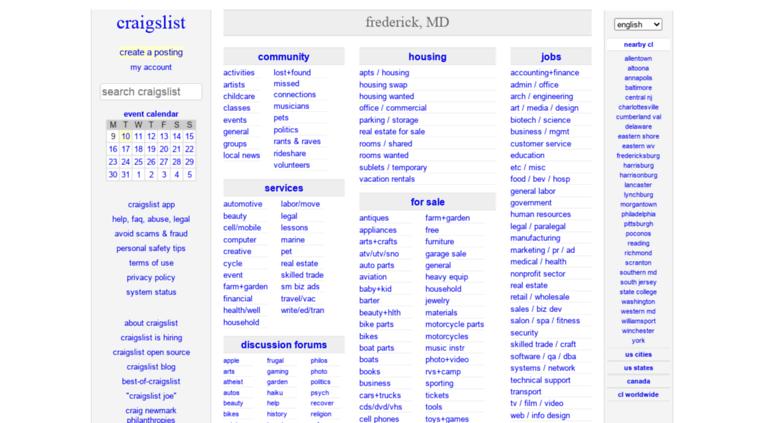 Access Sandiego Craiglist Org Craigslist San Diego Jobs