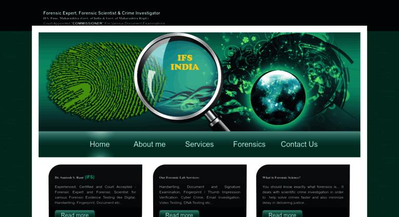 Access santoshraut com  Cyber Forensic Expert, Cyber Crime