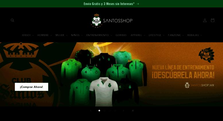 eee842007887f Access santosshop.mx. Santos Shop - Tienda Oficial del Club Santos ...