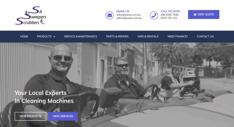 sasas.com.au screenshot