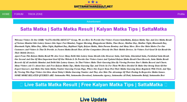 Access sattaking org  Satta King Online Result | Satta King