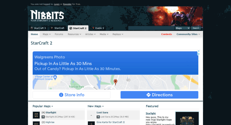 Access sc2 nibbits com  StarCraft 2 | Nibbits