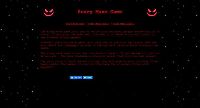 Access scary-games net  Scary Games - Play The Scary Maze