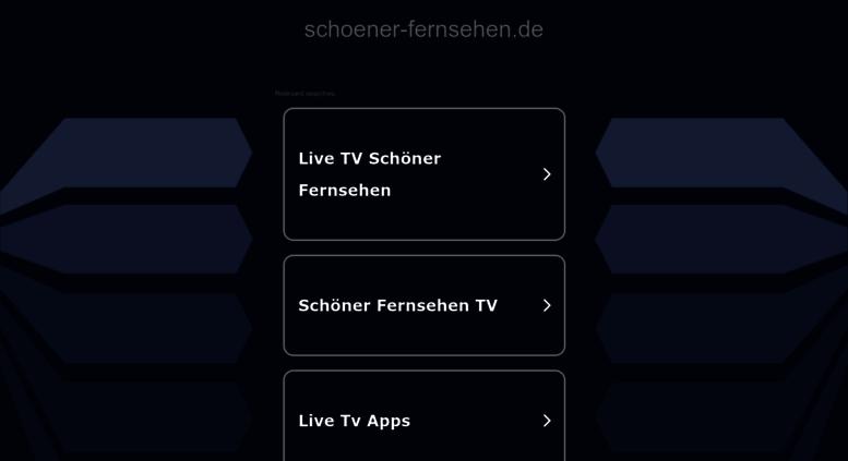 Access Schoener Fernsehende Realtimeat Domain Gecatcht