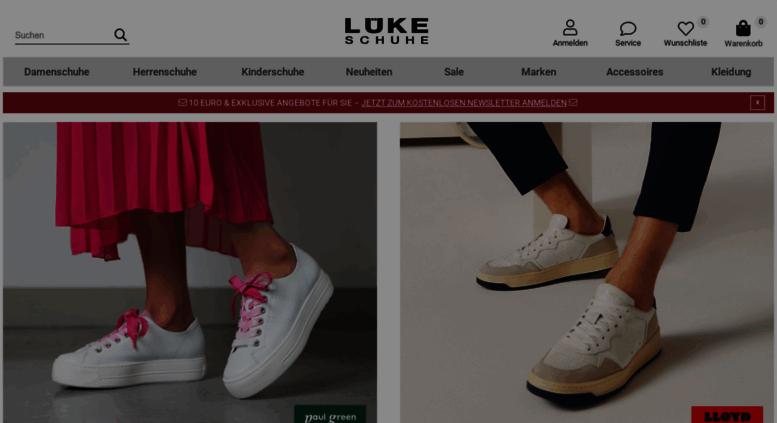 Access schuhe . Schuhe Lüke Onlineshop