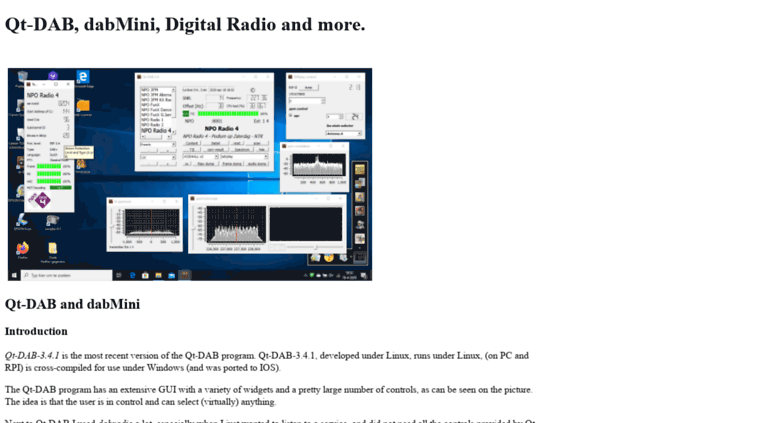 Access sdr-j tk  Software Defined Radio, DAB, FM and much more