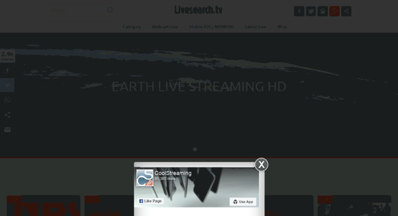 Access search coolstreaming us  Livesearch tv - Search your