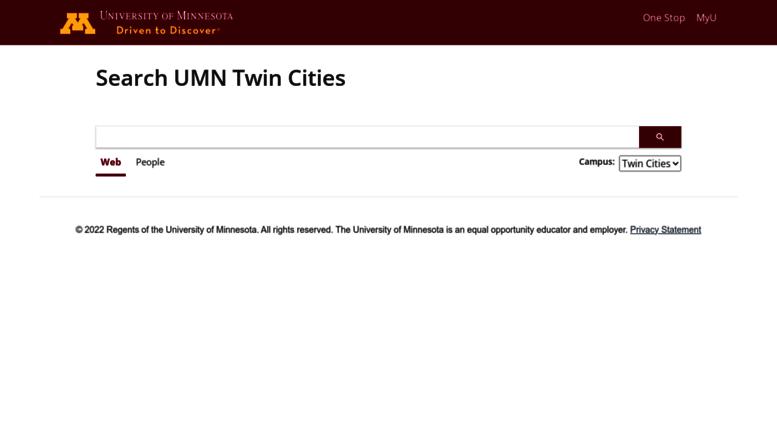 Umn Academic Calendar.Access Search Umn Edu Search University Of Minnesota