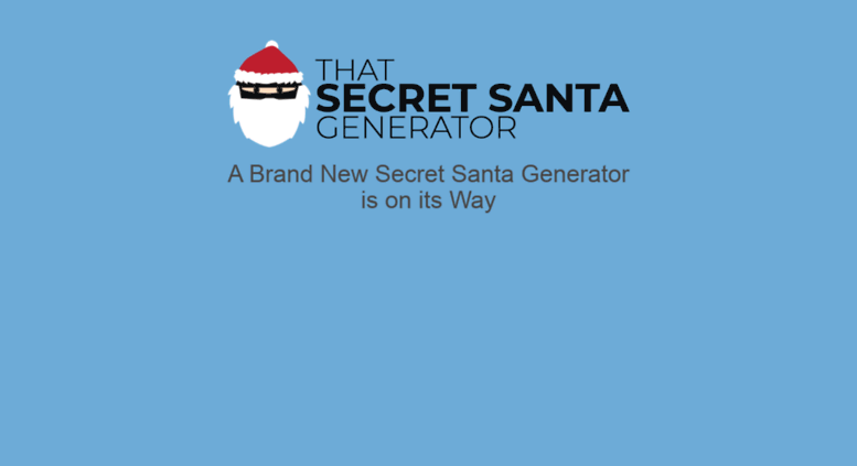 Access Secretsanta Redder Co Uk A Free Generator For All Secret