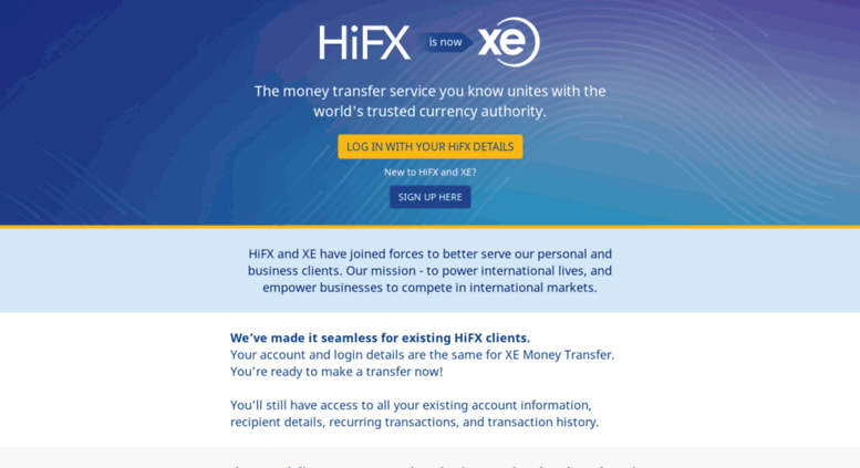 Access Secure Hifx Co Uk Is Now