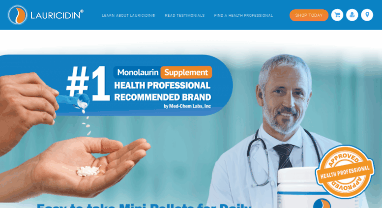 Access secure lauricidin com  LAURICIDIN® Original Monolaurin Supplement