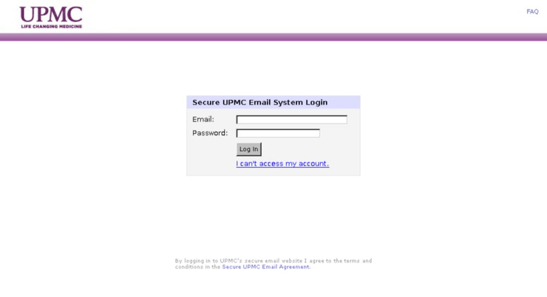 Access securemail upmc com  Login to UPMC Secure Email