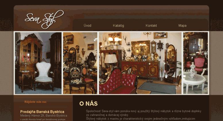 f5ca70d499cf Access seva-styl.sk. SEVA štýlový nábytok - Banská Bystrica - Úvod