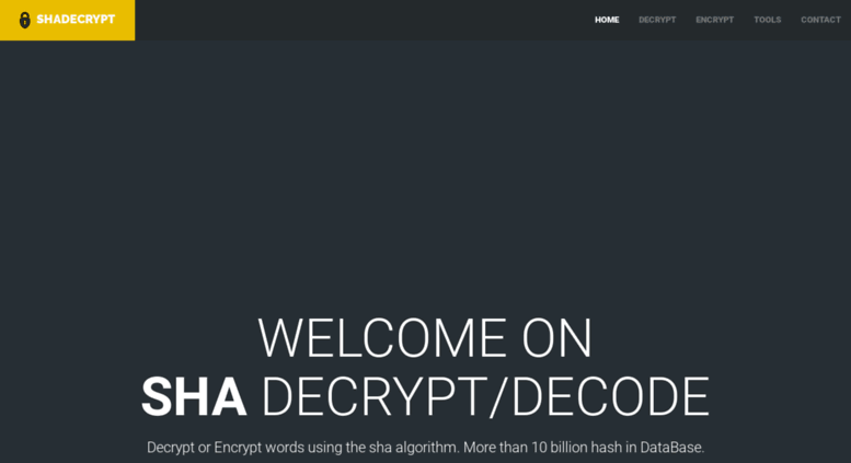 Access shadecrypt com  SHADECRYPT decode decrypt break sha