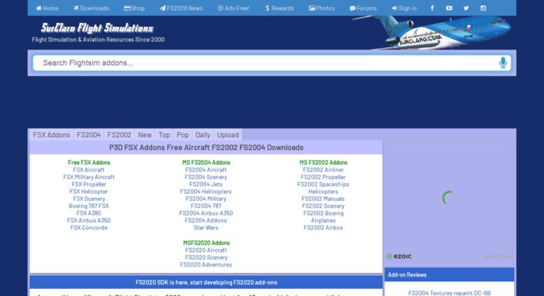 Access shared surclaro com  SurClaro FSX Addons & Free Flight