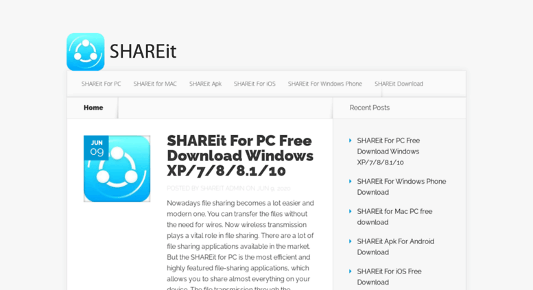 shareit apps download for pc windows 7
