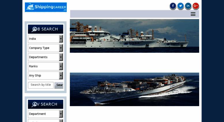 Access shippingcareer in  ShippingCareer | Best Seafarer