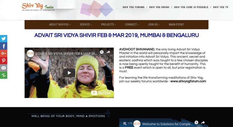 Access shivyogindia com  ShivYog is a holistic platform