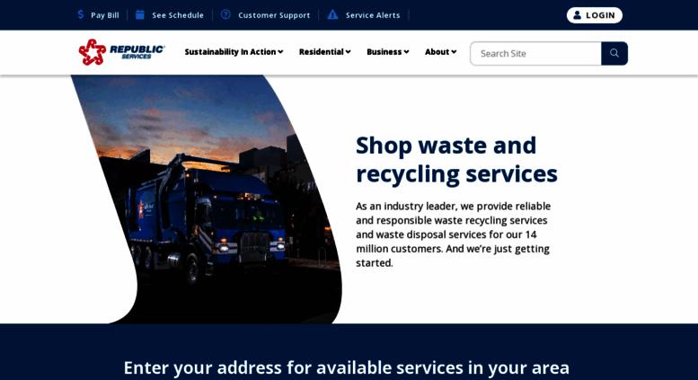 Access shop-las-vegas republicservices com  Page Loading