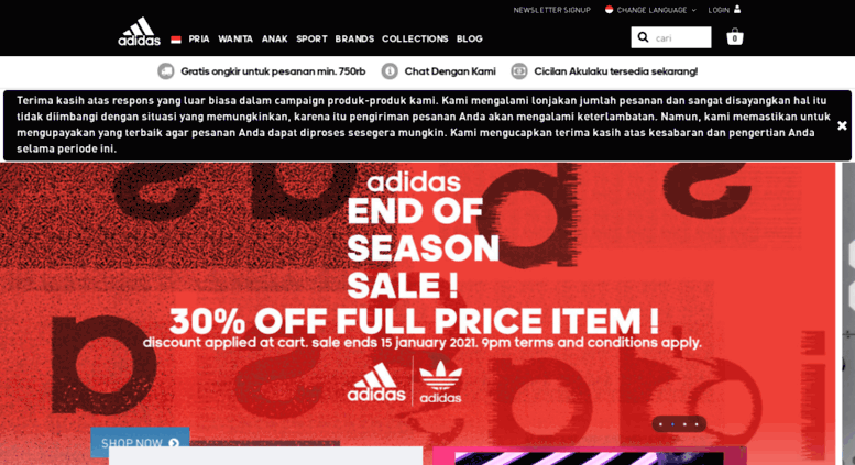 brillante Nosotros mismos fondo  Access shop.adidas.co.id. adidas Indonesia: Official Online Store | Shoes,  Apparel, Accessories