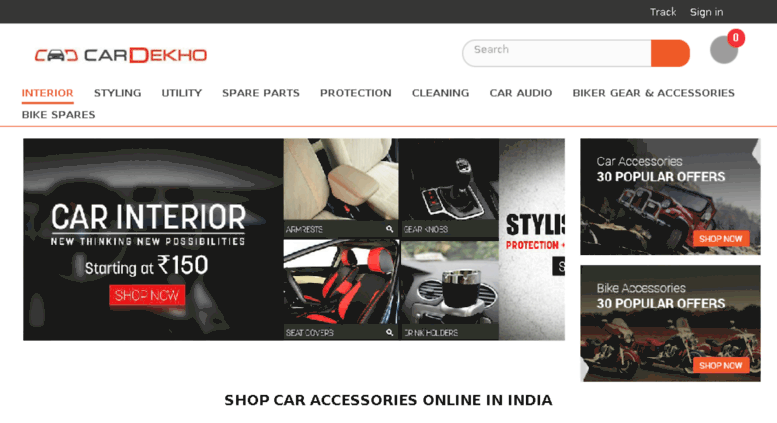 Access Shop Cardekho Com Car Accessories Online In India Lowest