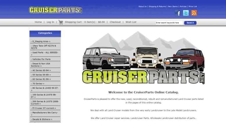 Access shop cruiserparts net  CruiserParts net, Toyota Landcruiser Parts
