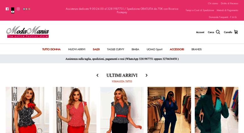 size 40 ed96c a494e Access shop.moda-mania.it. The Online Fashion Store » Moda Mania