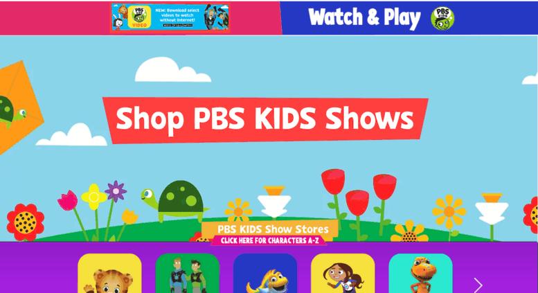 3d0cae6bc60 Access shop.pbskids.org. The Official PBS KIDS Shop