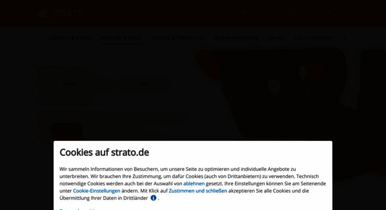 Access shop.strato.com. Webshop - Erfolgreich online verkaufen - STRATO fce4b9430f
