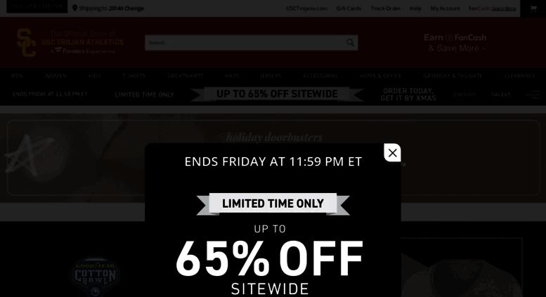 d003eae15 Access shop.usctrojans.com. USC Apparel, USC Trojans Gear, USC ...