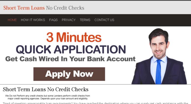 Access shorttermloansnocreditchecks ca  Short Term Loans Bad