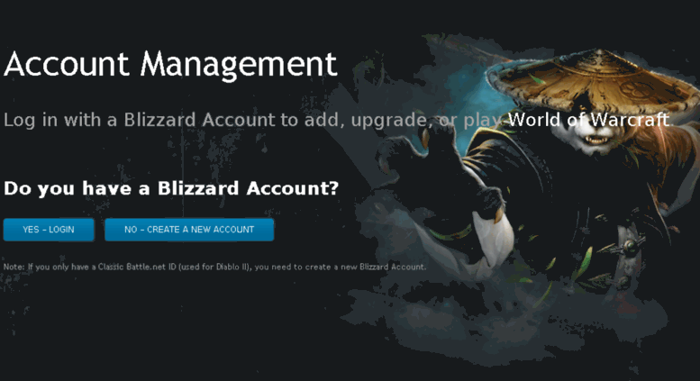 Access signup wow-europe com  Blizzard Account