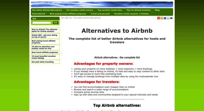 Access similar-web-sites-to-airbnb-roomorama-wimdu fastweb