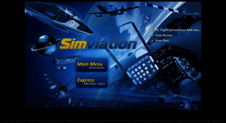 Access simviation com  Simviation - The World's Capital for Flight