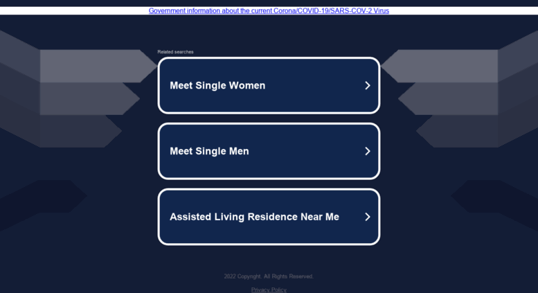 Senior singles login