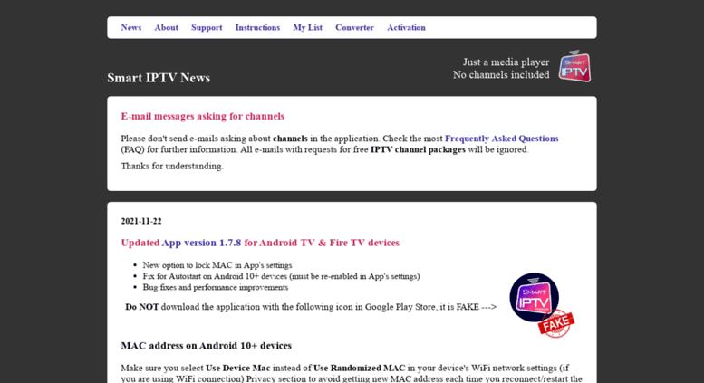 Access siptv eu  Smart IPTV