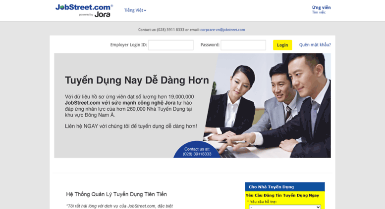 Access siva-vn jobstreet com  JobStreet vn   Mạng tuyển dụng