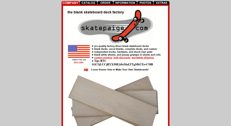 Access skatepaige com  Blank Skateboard Decks, Uncut