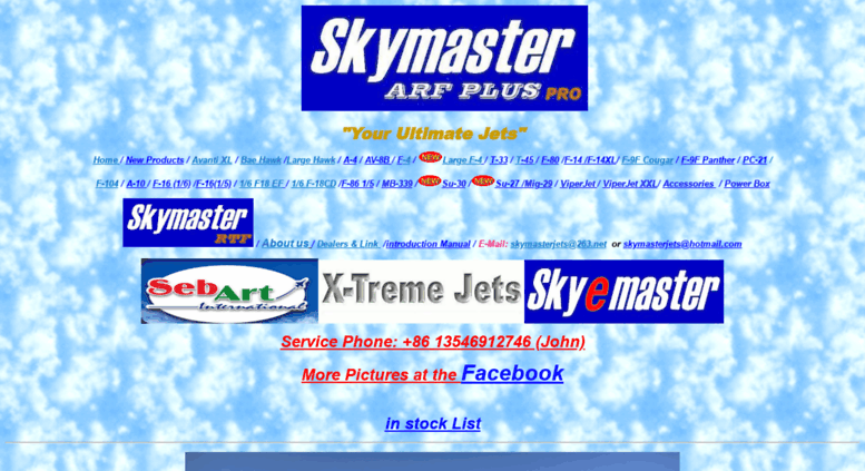 Access skymasterjets net  Welcome to Skymaster RC Jet Models