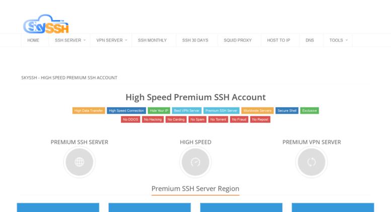 Best vpn and fast premium ssh servers