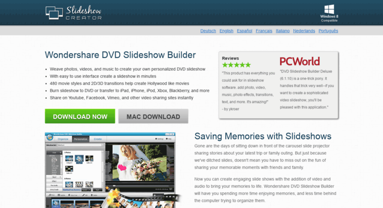 Access slideshowcreator net  Slideshow Creator - Easily create and
