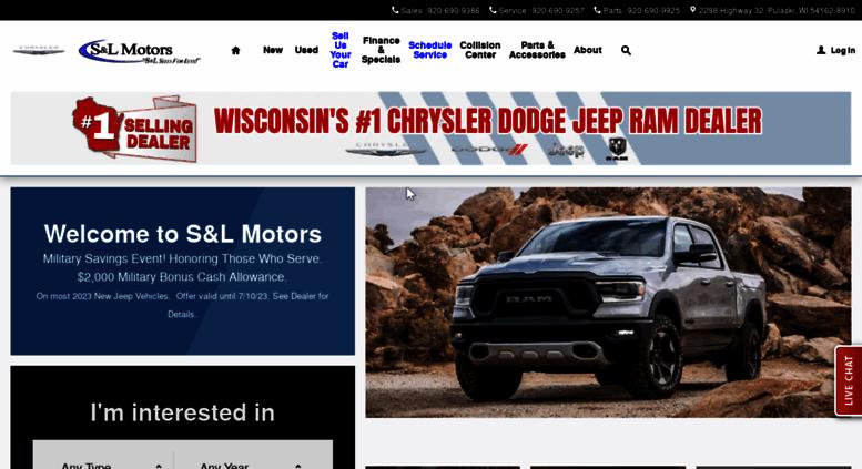 slmotors.com screenshot