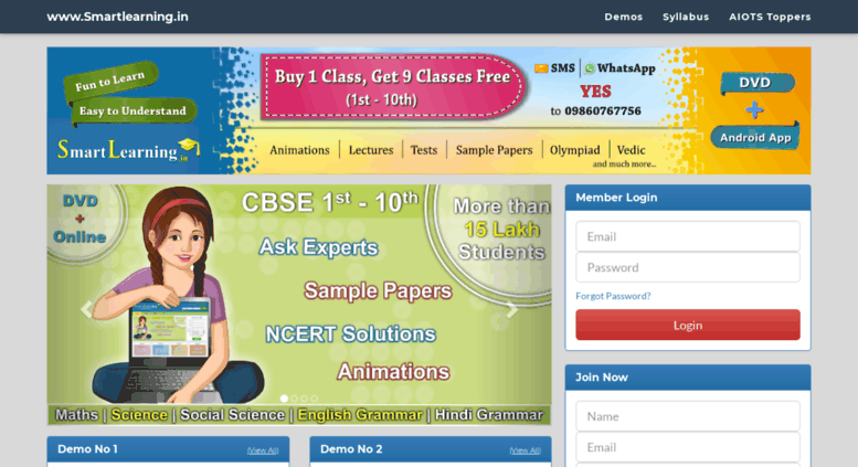access smartlearning in login cbse ncert syllabus for 1st 2nd