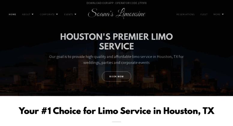 Car Service Houston >> Access Soanaslimousine Com Houston Chauffeur Service