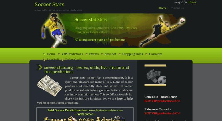 Access soccer-stats org  Free soccer predictions, picks - soccer-stats