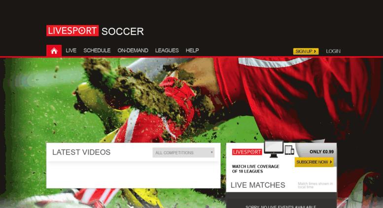 Access soccer.livesport.tv. Stream Live Football Online  89a05f7a73a