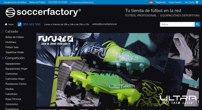 cb023cc6795da Access soccerfactory.es. Soccerfactory - Tienda de Equipaciones ...