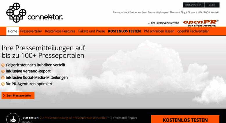 Access socialmediaverteiler.connektar.de. ᐅ ...
